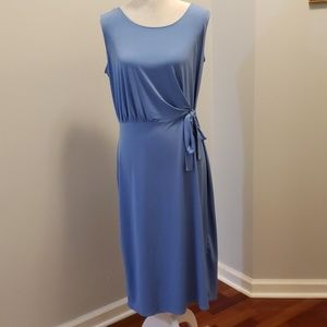 Christopher & Banks Powder Blue Summer Dress Med